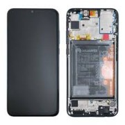 Huawei P Smart 2019 Frontcover + Lcd + Touch Black Original (Service Pack)