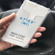 "Universal 4.7""- 5.0"" Silicone Case Transparent"