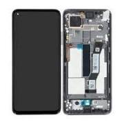 Xiaomi Mi 10T / Mi 10T PRO Frontcover + Lcd + Touch Black Original (Service Pack)