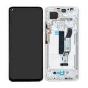 Xiaomi Mi 10T / Mi 10T PRO Frontcover + Lcd + Touch Silver Original (Service Pack)