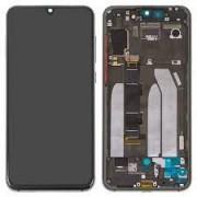 Xiaomi MI 9 SE Frontcover + Lcd + Touch Black Original (Service Pack)