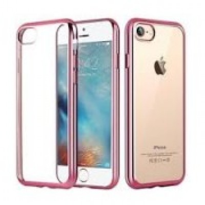 Xiaomi Mi A1 / 5X Plated Silicone Case Rose Gold