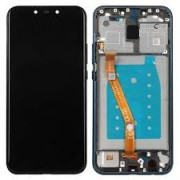 Huawei Mate 20 Lite Frontcover + Lcd + Touch Black Grade A