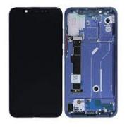 Xiaomi Mi 8 Frontcover + Lcd + Touch Blue Original (Service Pack)