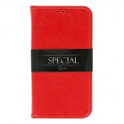 Huawei Y7 Prime 2018 Book Special Leather Case Red