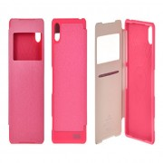 iPhone 5 / 5S WOW View Book Case Dark Pink