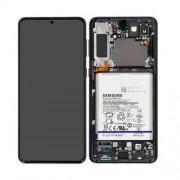 Samsung G996B / Galaxy S21 Plus 5G Frontcover + Lcd + Touch Phantom Black Original (Service Pack)