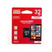 Goodram microSDHC Card 32GB + Adapter Class 10 100MB/s