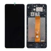 Samsung A326B / Galaxy A32 5G  Frontcover + Lcd Black Original (Service Pack)
