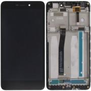 Xiaomi Redmi 4A Frontcover + Lcd + Touch Black Grade A