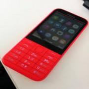 Nokia 225 Front Cover Red Original