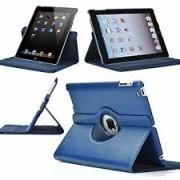 iPad Air 2 Book Rotated Case Blue