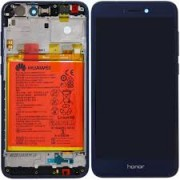 Huawei Honor 8 Frontcover + Lcd + Touch Blue Original (Service Pack)