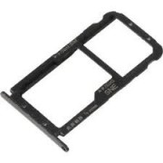 Huawei Mate 20 Lite Sim Tray Holder Black Original (Service Pack)