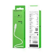 BOROFONE Usb Cable BX16 iPhone Lightning 1M White Blister