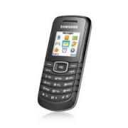Samsung E1080 Front Cover Black Grade A