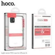iPhone 11 PRO MAX Hoco Light Series Silicone Case Transparent