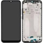 Xiaomi MI A3 Frontcover + Lcd + Touch Black Original (Service Pack)