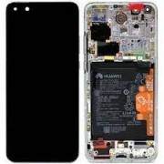 HTC Desire 310 Frontcover + Lcd + Touch Blue Original
