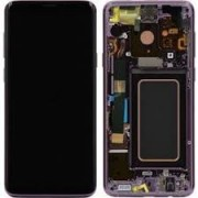 Samsung G960F / Galaxy S9 Frontcover + Lcd + Touch Purple Original (Service Pack)