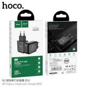 Hoco Charger Adaptor N2 2.1A Black Blister
