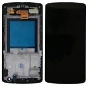 LG K420 / K10 Front Cover + Lcd + Touch Black Grade A