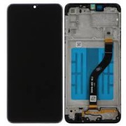 Samsung A207F / Galaxy A20s Frontcover + Lcd + Touch Black Original (Service Pack)
