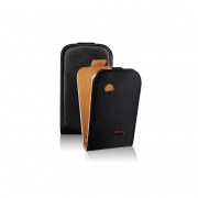 HTC Desire C / A320e Flip Case Black