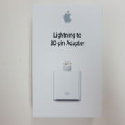 Apple Lightning to 30-Pin Adaptor MD823ZM/A