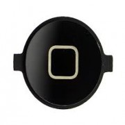 iPhone 4 / 4S Home Button Black HQ