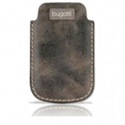"Bugatti Country Leather Case Marble Brown Univesal ""M"""