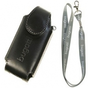 "Bugatti Leather Case Black  Strap Univesal ""S"""