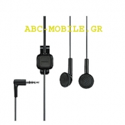 Nokia WH-102 Handsfree 3.5mm Black Original Bulk