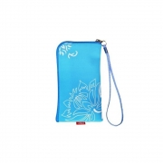 Pocket Case with Zipper Blue