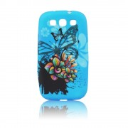 Sony Xperia M/C1905 Desing Silicone Case Blue