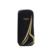 "Bugatti Slim Case   ""XS"" Golden B Black Univesal"