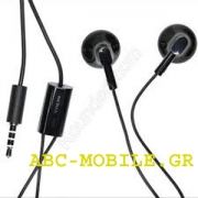 Nokia WH-109 Handsfree 3.5mm Black Original Bulk