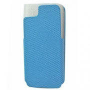 iPhone 5 / 5s Flip Case Cross Blue