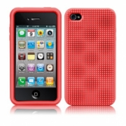 iPhone 4 / 4s Case Mate Silicone Case Red