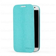 HTC ONE M7 Rock Book Case Light Blue