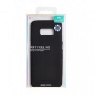 iPhone XS Mercury Soft Feeling Silicone Case Black