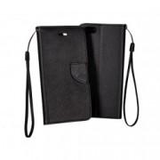 Lenovo Moto G4 Book Fancy Case Black