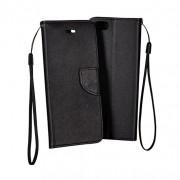 LG K8 / K350  Book Fancy Case Black