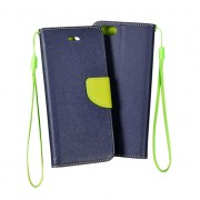 HTC Desire 320  Book Fancy Case Navy-Lime