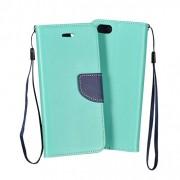 LG L Fino / D290 Book Fancy Case Mint-Navy