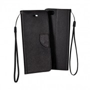 Sony Xperia E4G / E2003 Book Fancy Case Black