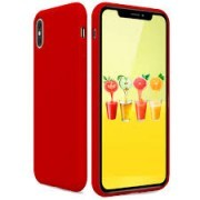 LG K4 / K120e Candy Silicone Case Red