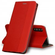 Samsung Galaxy A10 / A105F Vennus Book Sensitive Red