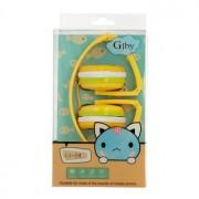 GJBY Headphones GJ-04 Yellow