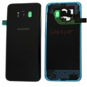 Samsung A217F / Galaxy A21s Frontcover + Lcd + Touch Black Original (Service Pack)